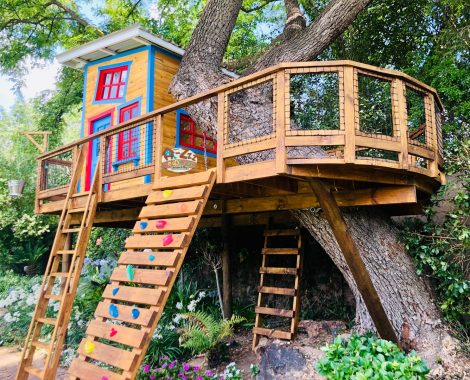 Oval Oak Treehouse